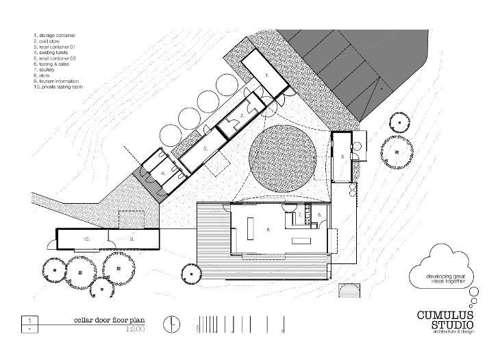h cellar door floor plan