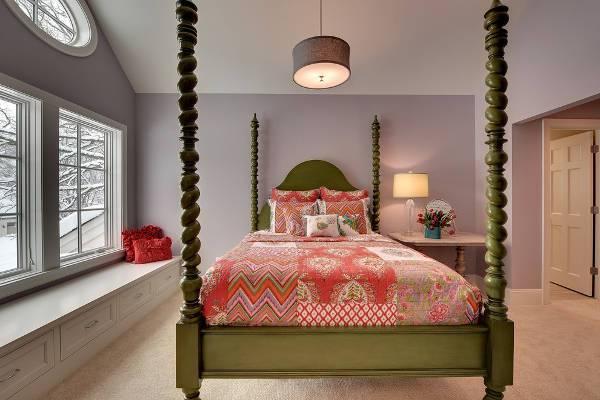 contemporary bedroom storage bench