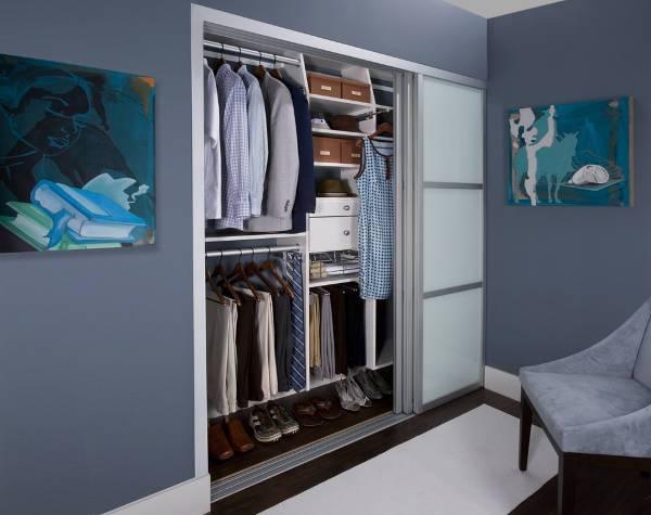 modern sliding closet door
