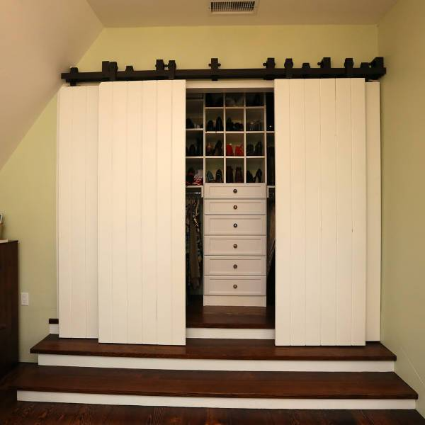Traditional Small Closet Door