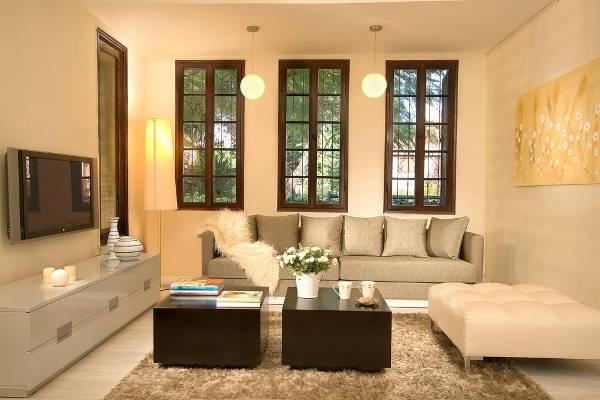 modern leather ottoman design