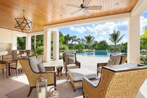 best patio ottoman design