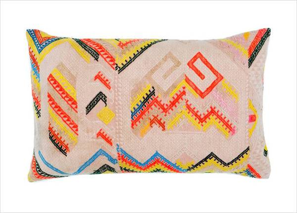 vintage hill tribe pillow