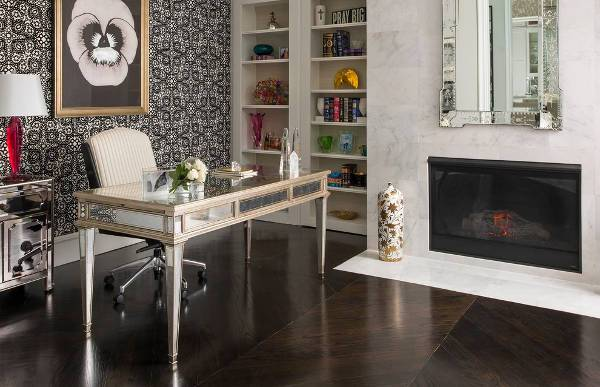 mirrored office furniture. mirrored home office desk design furniture a