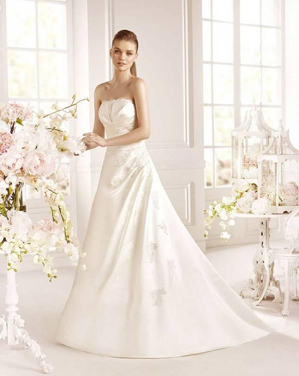 strapless white homecoming dress