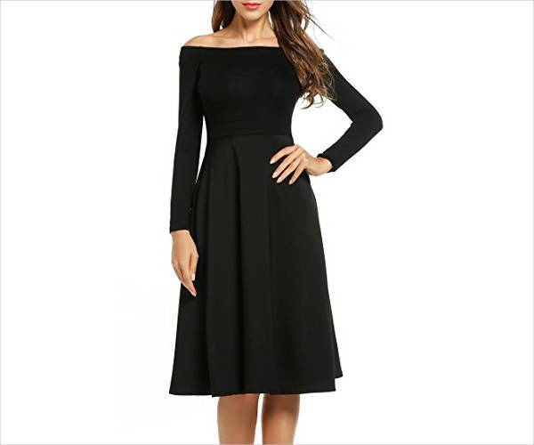 formal long sleeve homecoming dress