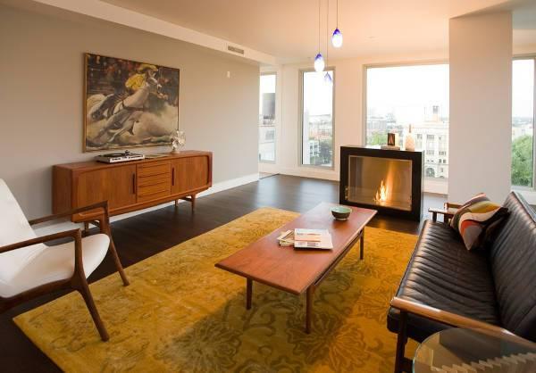 vintage living room sideboard