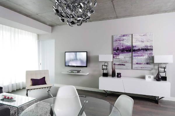 modern white sideboard design