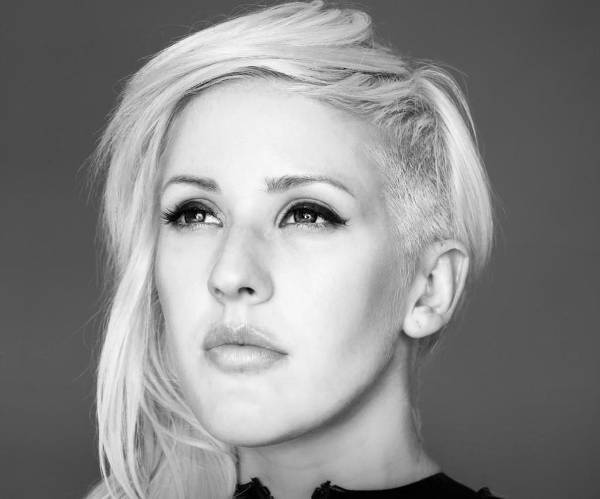 ellie goulding shaved haircuts for round faces