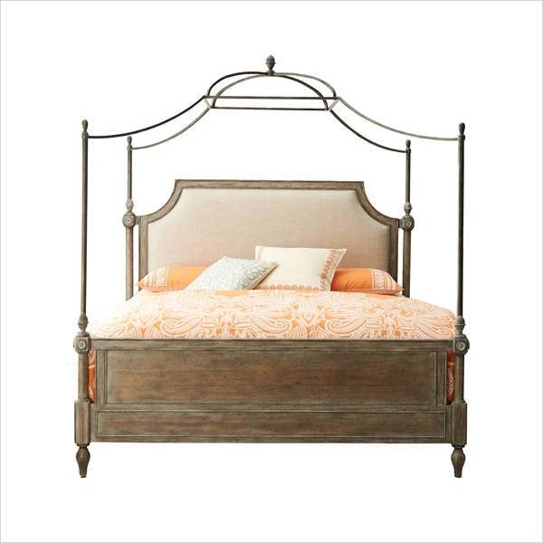 hooker furniture cortina canopy bed