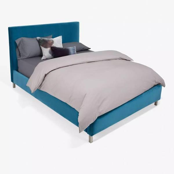 cobble hill bond street velvet bed