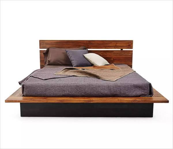 form teak bed