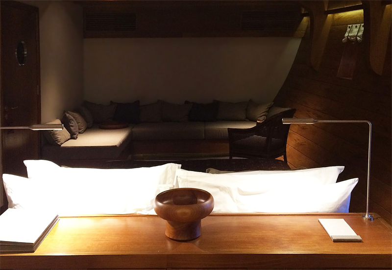 12 guest cabin