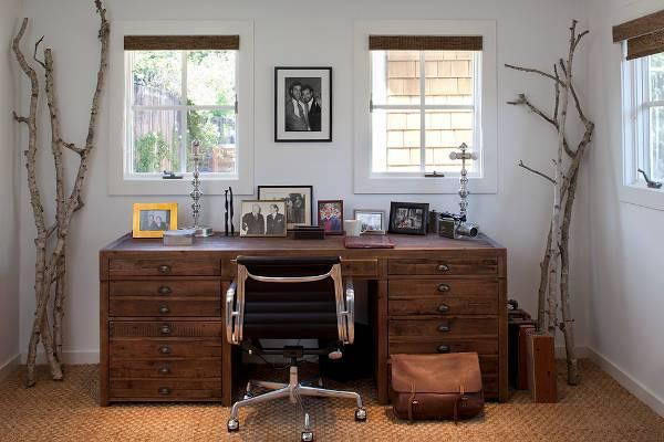 rustic writing desk designs