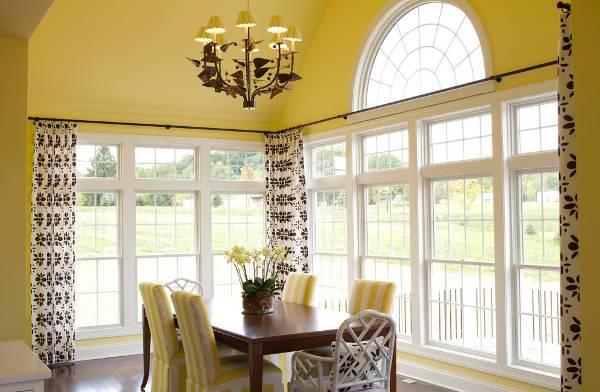 outdoor window curtain design