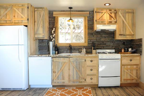rustic medical cabinets