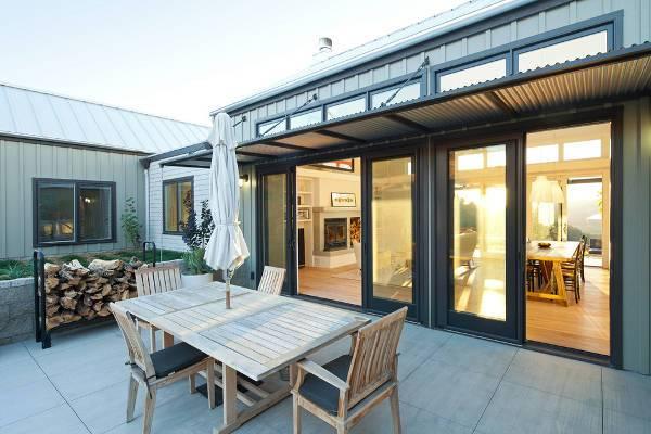 metal patio door designs