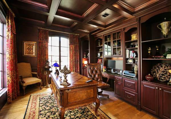 wood executive desks