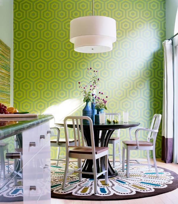 round kitchen rug ideas