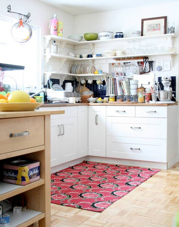 Corner Kitchen Rugs