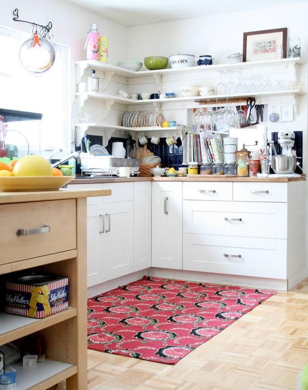 corner kitchen rugs