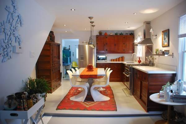 kitchen table rug ideas