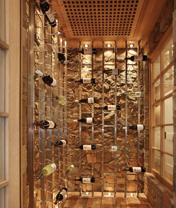 curved wine rack designs