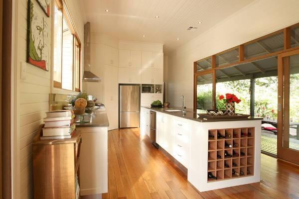 kitchen wine rack ideas