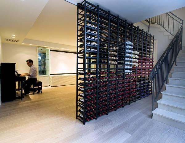 floor wine racks
