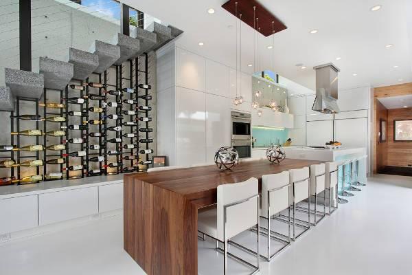 restaurant wine rack designs