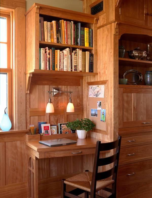 rustic small desk designs