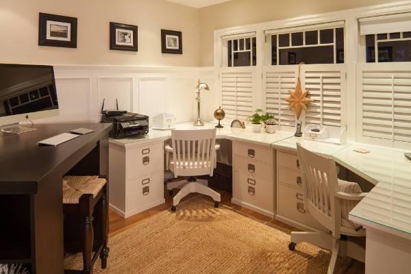 corner office desk designs