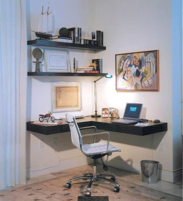 floating corner desks