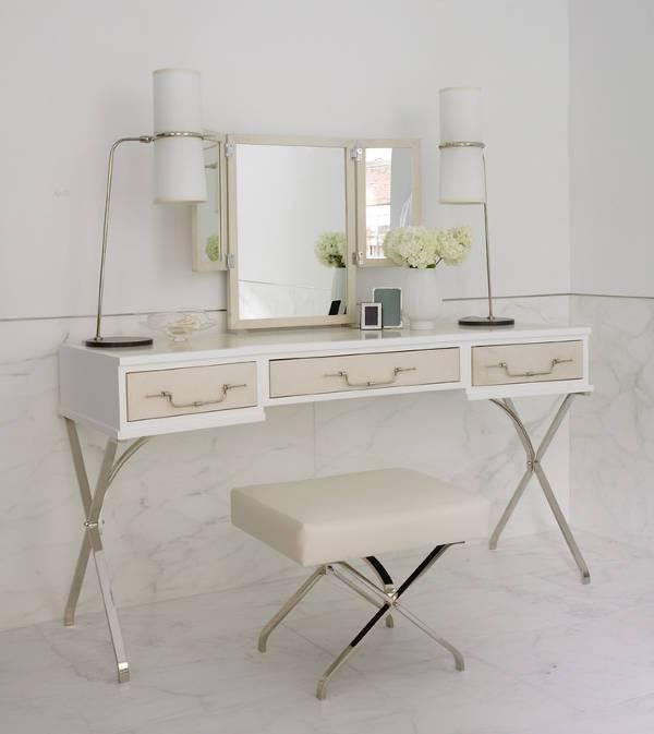 modern vanity tables