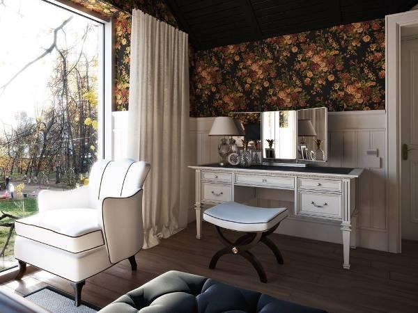wood vanity tables