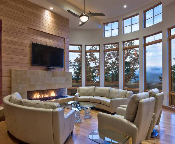 double recliner sofas
