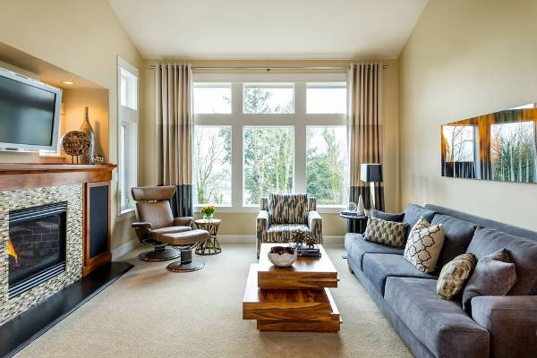 fabric reclining sofas