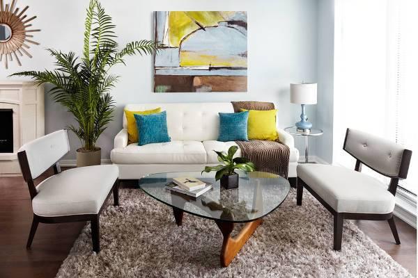 small reclining sofas