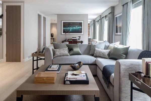 gray reclining sofas