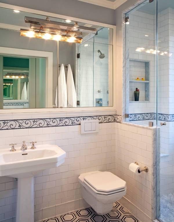 bathroom track lighting