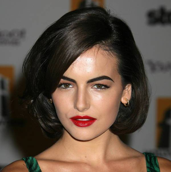 camilla belle medium bob haircut