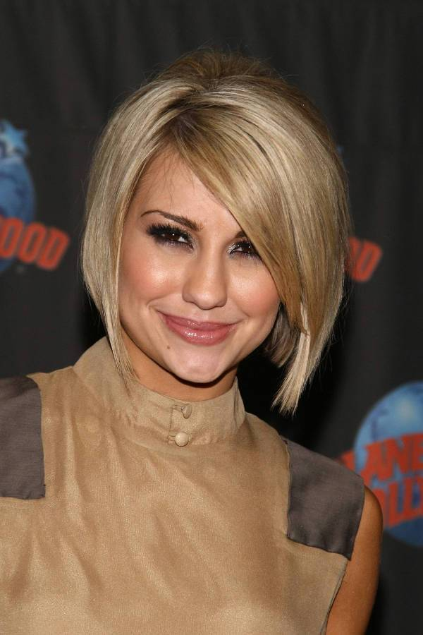 chelsea kane inverted bob haircut