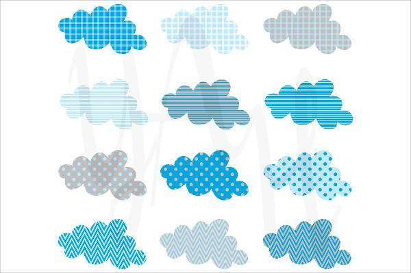 11 Cloud Patterns Psd Png Vector Eps Format Download