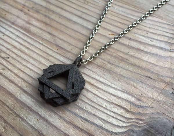 3d geometric pendant design