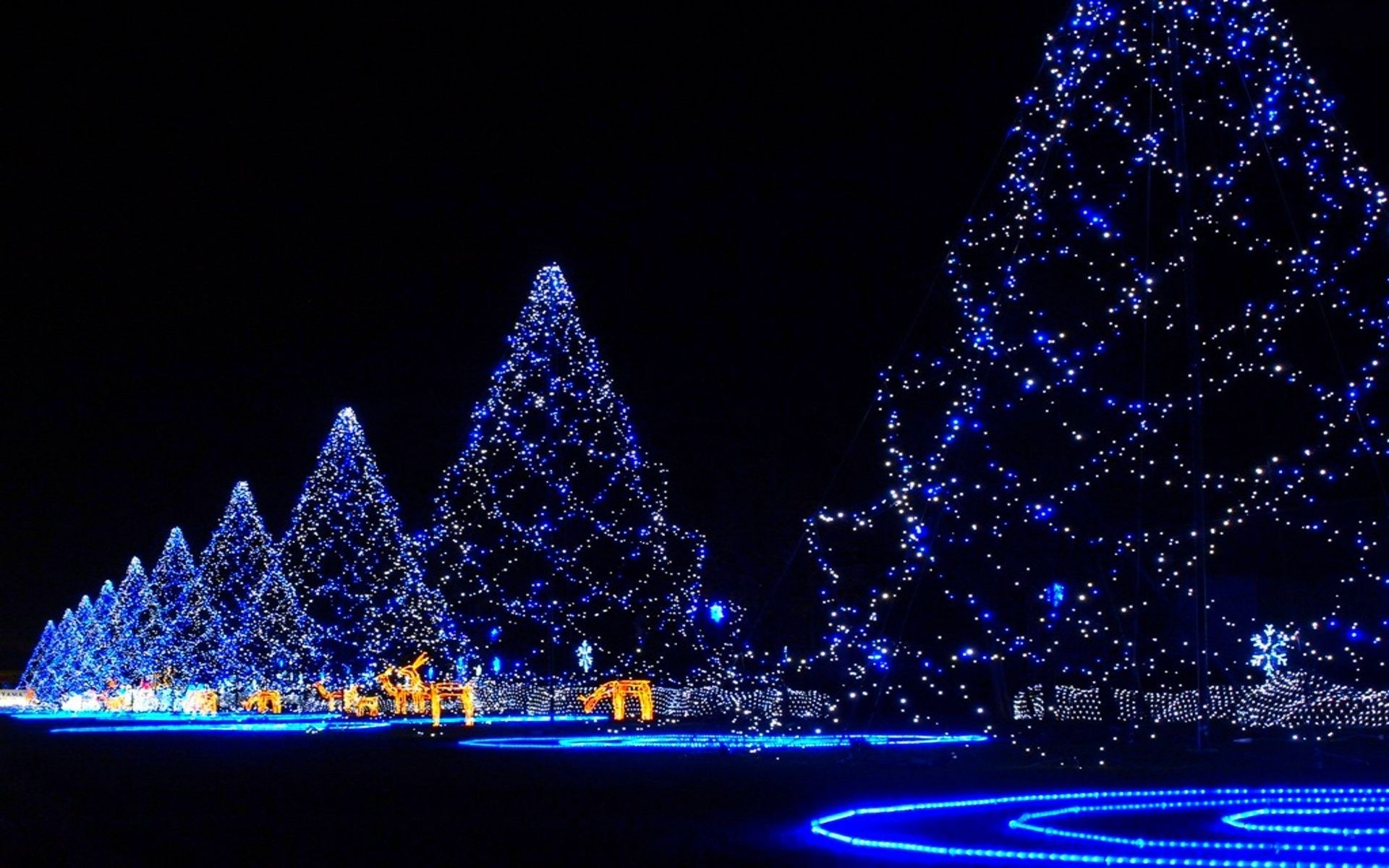 awesome christmas light wallpaper hq