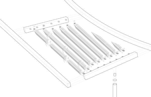 axonometric canopy detail