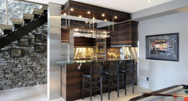 Awesome Basement Bar Ideas