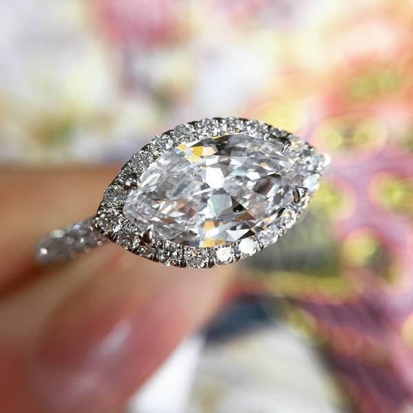 beautiful marquise diamond ring