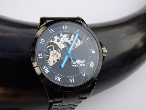 Black Metal Watch Design for Men