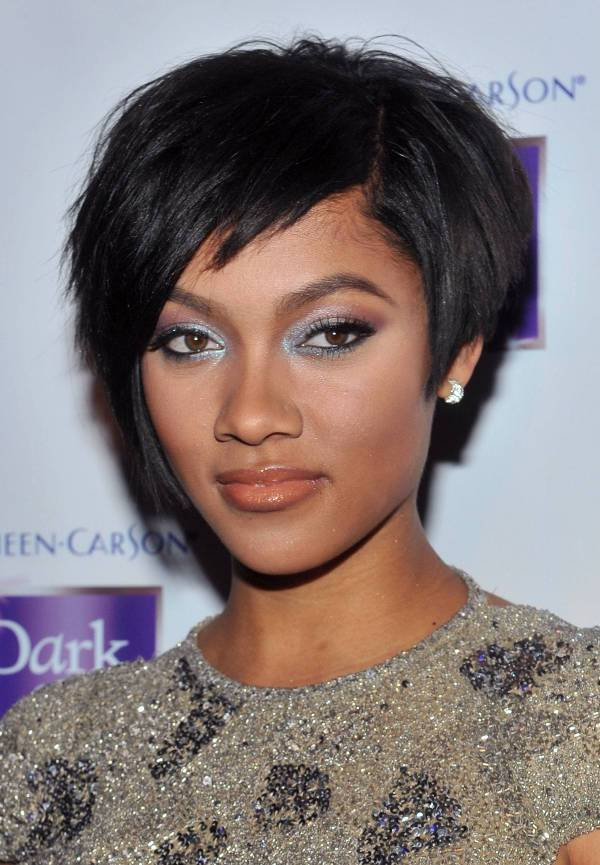 Bria Murphy Formal Short Hairstyles For Black Women